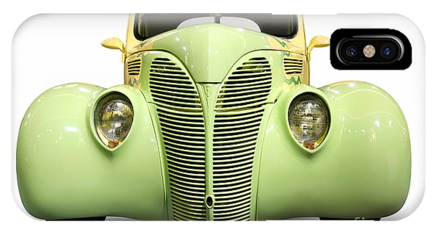 Hot Rod IPhone X Case featuring the photograph Hot Rod Ford Coupe 1938 by Oleksiy Maksymenko
