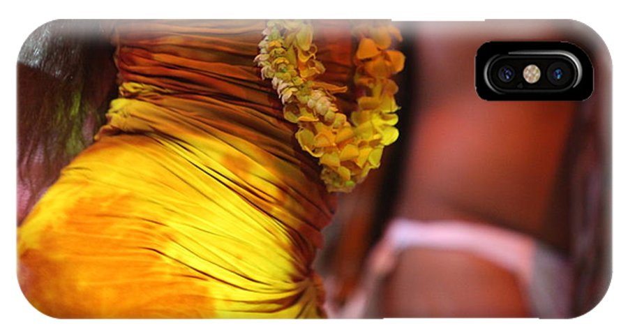 Dance IPhone Case featuring the photograph Hula Dancers by Nadine Rippelmeyer