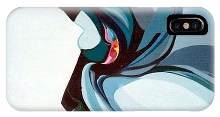 Bird IPhone Case featuring the painting Hummer by Marlene Burns