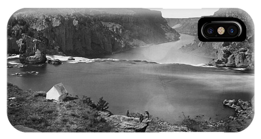 1868 IPhone X Case featuring the photograph Idaho: Snake River Canyon by Granger