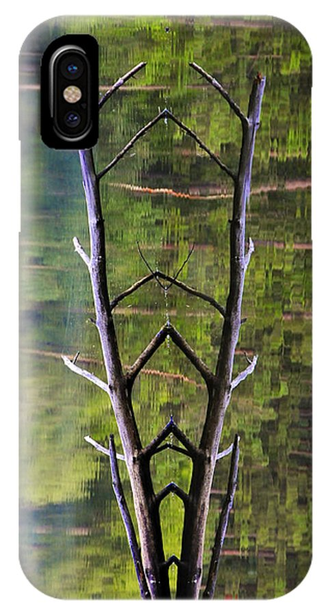 Photography IPhone Case featuring the photograph Jacob's Ladder by Skip Hunt