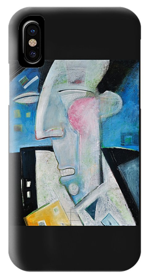 Jazz IPhone Case featuring the painting Jazz Face by Tim Nyberg