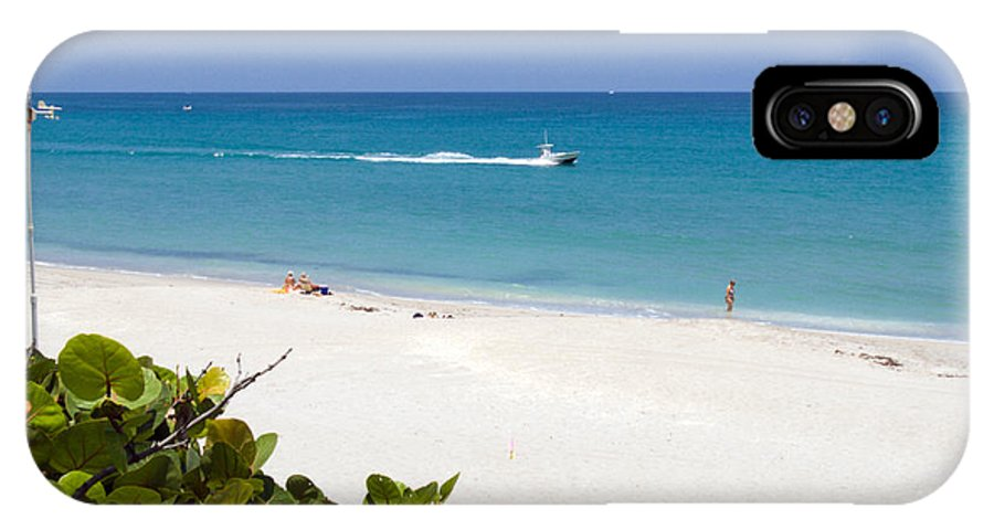 Juno; Florida; Loxahatchee; River; Jupiter; Inlet; Swim; Swimming; Children; Girl; Boy; Woman; Man; IPhone X Case featuring the photograph Juno Florida by Allan Hughes