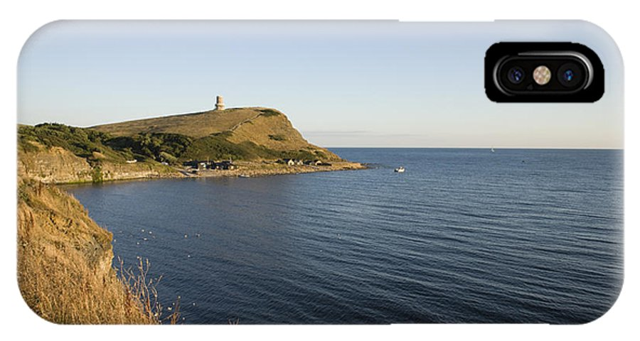 Kimmeridge IPhone X Case featuring the photograph Kimmeridge Bay In Dorset by Ian Middleton