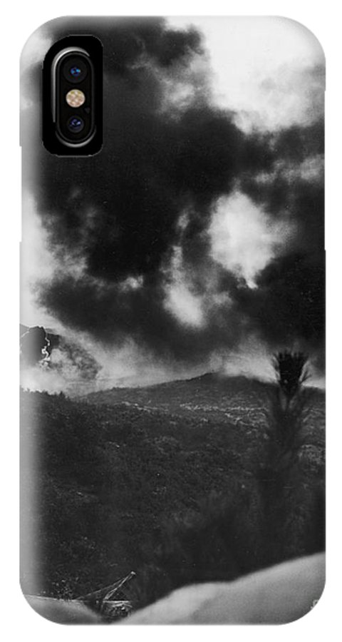 1952 IPhone X Case featuring the photograph Korean War: Bunker Hill by Granger