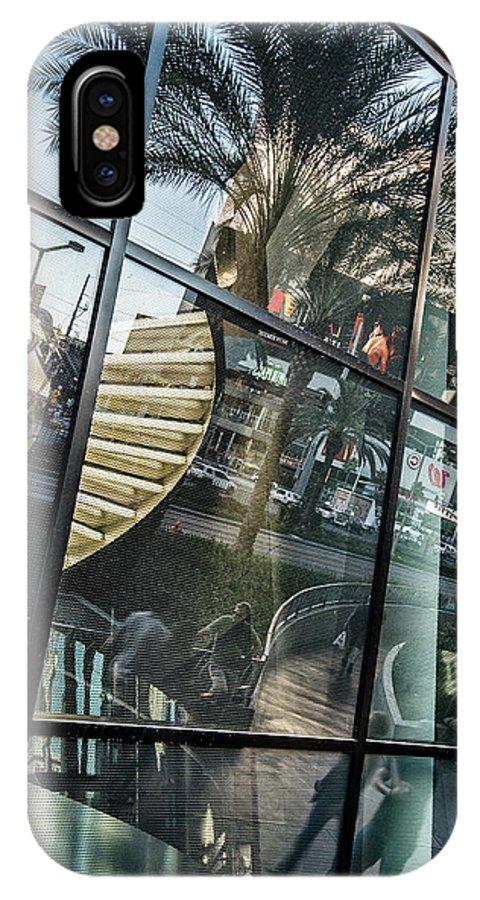 Las Vegas IPhone X Case featuring the photograph Las Vegas Strip 0271 by Bob Neiman