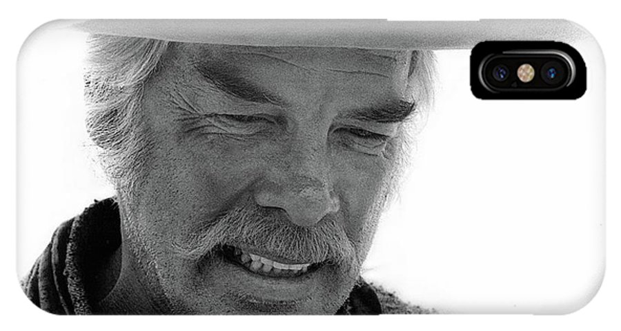Lee Marvin Monte Walsh Set Old Tucson Arizona 1969-2008 IPhone X Case featuring the photograph Lee Marvin Monte Walsh Set Old Tucson Arizona 1969-2008 by David Lee Guss