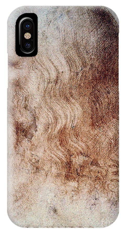 16th Century IPhone X Case featuring the photograph Leonardo Da Vinci by Granger