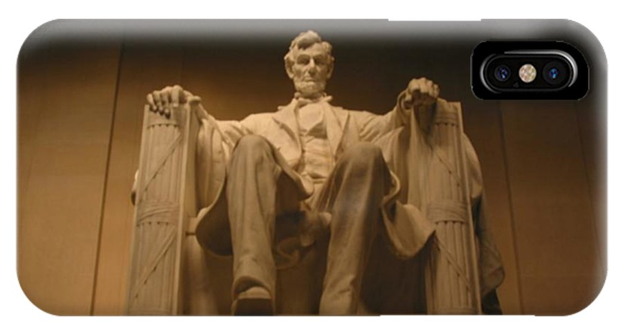 Abraham Lincoln IPhone Case featuring the painting Lincoln Memorial by Brian McDunn