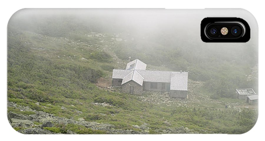 Hike IPhone X Case featuring the photograph Madison Spring Hut - White Mountains New Hampshire by Erin Paul Donovan