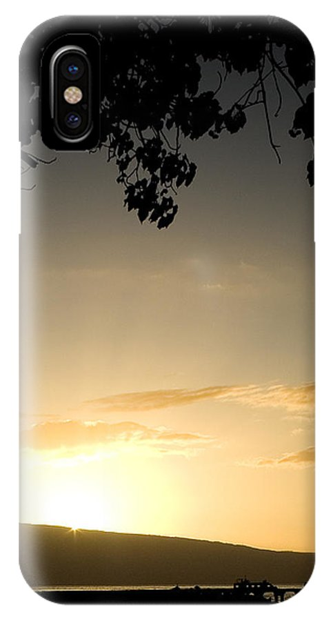 Maui Gold IPhone X Case featuring the photograph Maui Gold by Chris Brannen