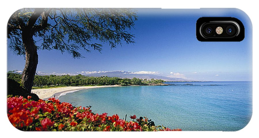 Afternoon IPhone X Case featuring the photograph Mauna Kea Beach by Dana Edmunds - Printscapes