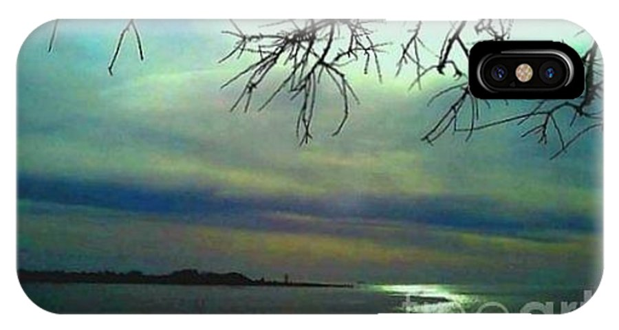Morning IPhone X Case featuring the photograph Morning bay by Dawn Johansen