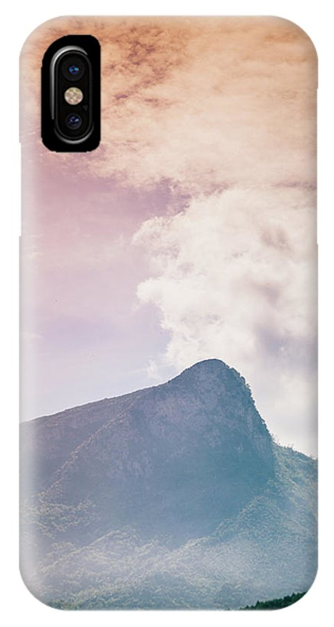 Landscape IPhone X Case featuring the photograph Mountains In The Background Xv by Salvatore Russolillo