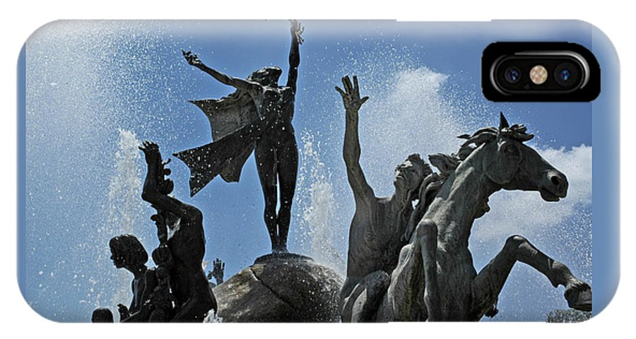 Statue IPhone Case featuring the photograph Old San Juan Puerto Rico by Tito Santiago