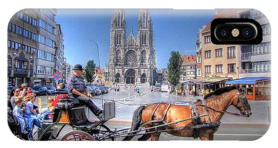 Ostend Belgium IPhone X Case featuring the photograph Ostend Belgium by Paul James Bannerman