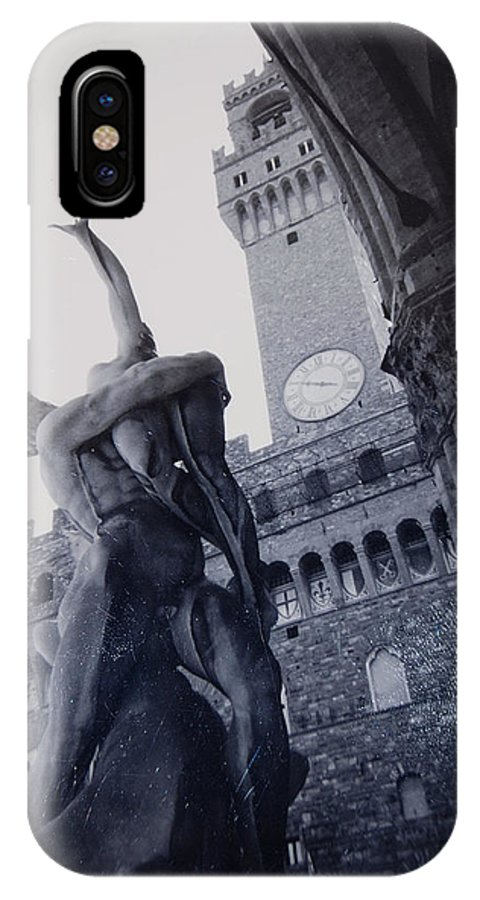 Florence IPhone Case featuring the photograph Palazzo Vecchio by Kurt Hausmann