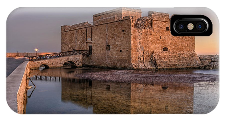 Paphos Castle IPhone X Case featuring the photograph Paphos - Cyprus by Joana Kruse