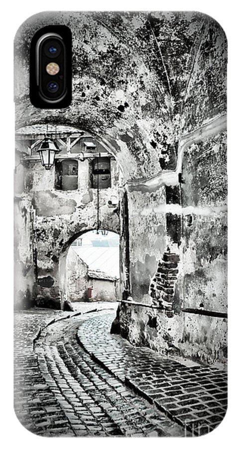 Passage IPhone X Case featuring the photograph Passage by Gabriela Insuratelu