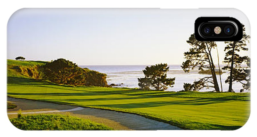 Pebble Beach Golf Course Pebble Beach Iphone X Case For Sale By Panoramic Images