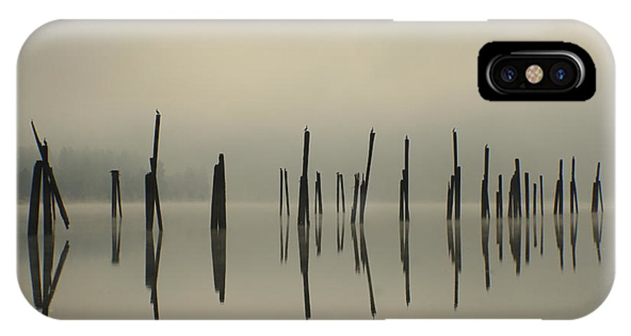Tranquility IPhone X Case featuring the photograph Pend Oreille Reflections by Idaho Scenic Images Linda Lantzy