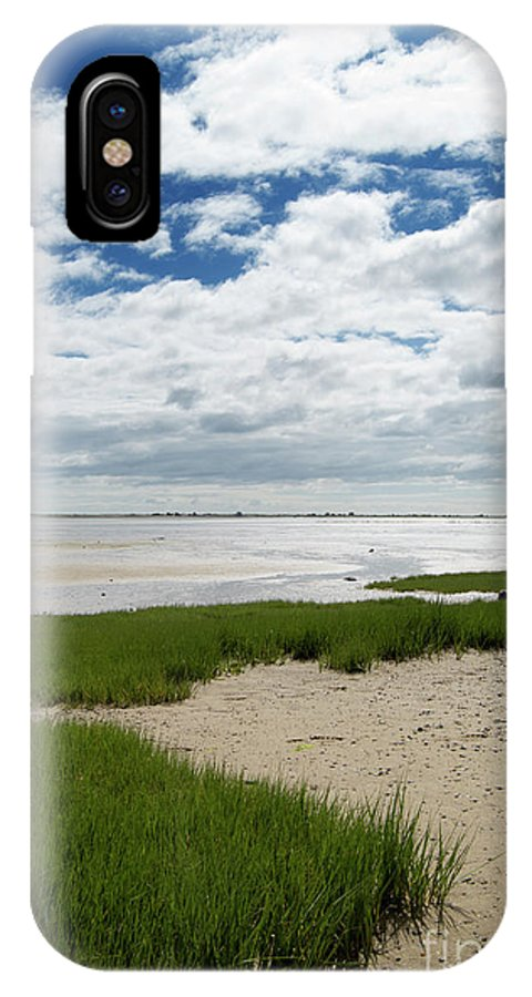 Plymouth IPhone X Case featuring the photograph Plymouth, Massachusetts, Beach by Michelle Himes