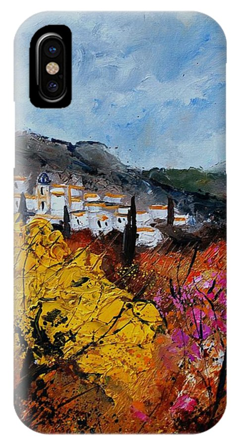 Provence IPhone Case featuring the painting Provence by Pol Ledent