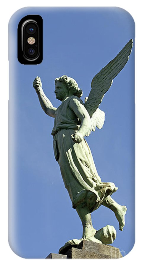 Mexico IPhone X Case featuring the photograph Puebla Angel Mexico by John Mitchell