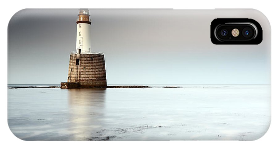 Lighthouse IPhone X Case featuring the photograph Rattray Head Lighthouse by Grant Glendinning