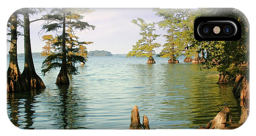 Lake IPhone X Case featuring the photograph Reelfoot Lake by Bonnie Willis