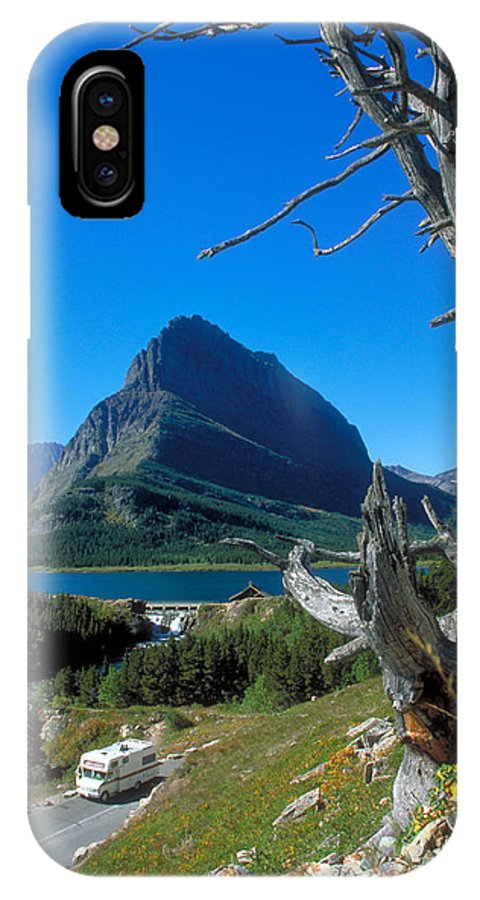 Rv IPhone X Case featuring the photograph Road To The Sun by Carl Purcell