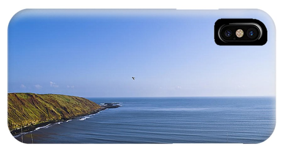 Seaside IPhone X Case featuring the photograph Seaside by Svetlana Sewell
