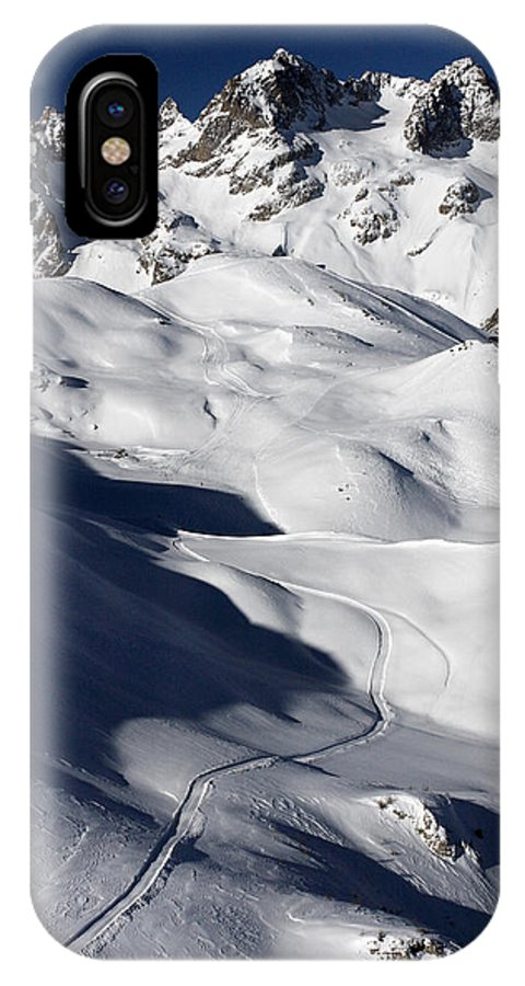 Serre Chevalier IPhone X Case featuring the photograph Serre Chevalier In The French Alps by Pierre Leclerc Photography