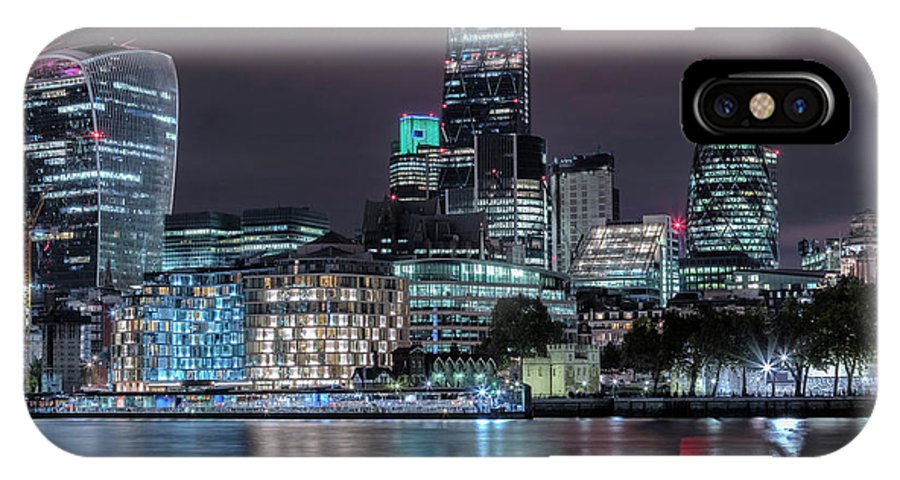 Skyline IPhone X Case featuring the photograph Skyline Of London by Joana Kruse