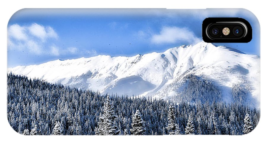 IPhone X Case featuring the photograph Snowmass by Heath Bollock