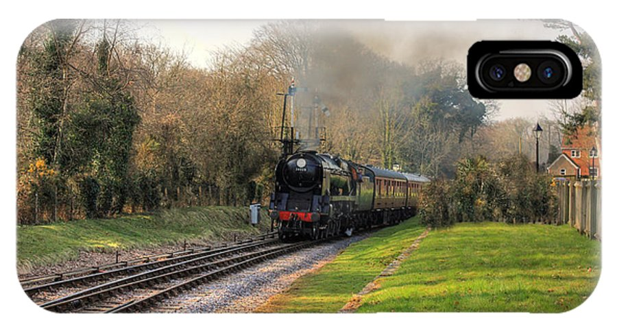 Steam Trains IPhone X Case featuring the photograph Southern Pacific by Paul Williams