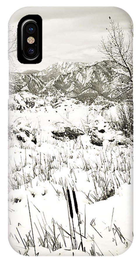 Colorado IPhone X Case featuring the photograph Stillness by Marilyn Hunt