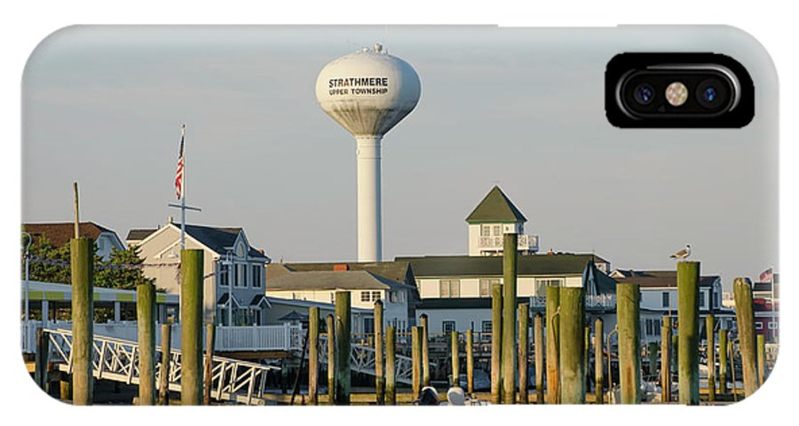 Strathmere IPhone X Case featuring the photograph Strathmere New Jersey by Bill Cannon