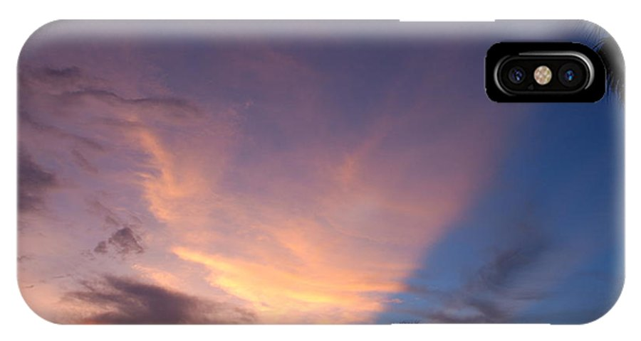 Sunset IPhone X Case featuring the photograph Sunset At Pine Tree by Rob Hans