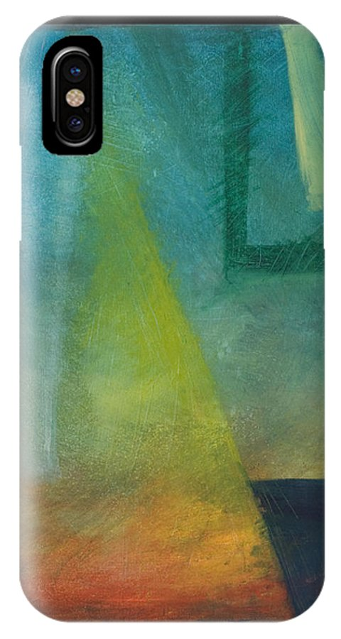 Sunset IPhone X Case featuring the painting Sunset Sail by Tim Nyberg
