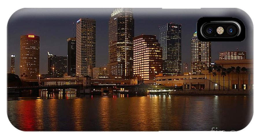 Tampa IPhone X Case featuring the photograph Tampa Florida by David Lee Thompson
