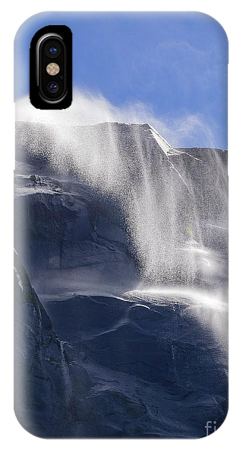 Nps IPhone X Case featuring the photograph The Beautiful Bridalveil Falls Of Yosemite by Chon Kit Leong