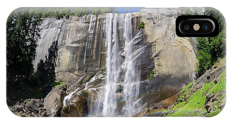 Nps IPhone X Case featuring the photograph The Beautiful Venral Fall by Chon Kit Leong