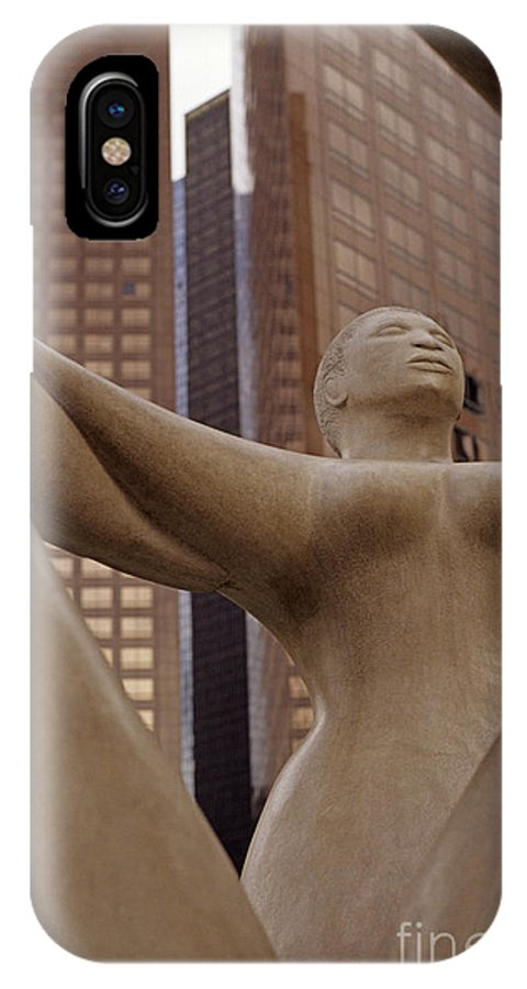 Travel IPhone X Case featuring the photograph Three Sisters by Jim Corwin