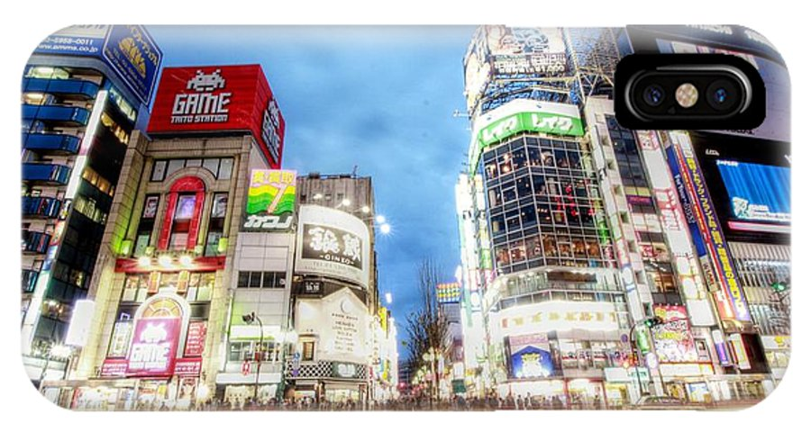 Tokyo Japan IPhone X / XS Case featuring the photograph Tokyo Japan by Paul James Bannerman