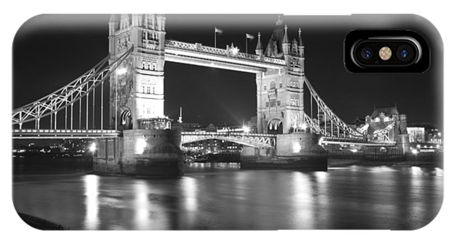 Tower Bridge IPhone X Case featuring the photograph Tower Bridge On The Thames London by David French