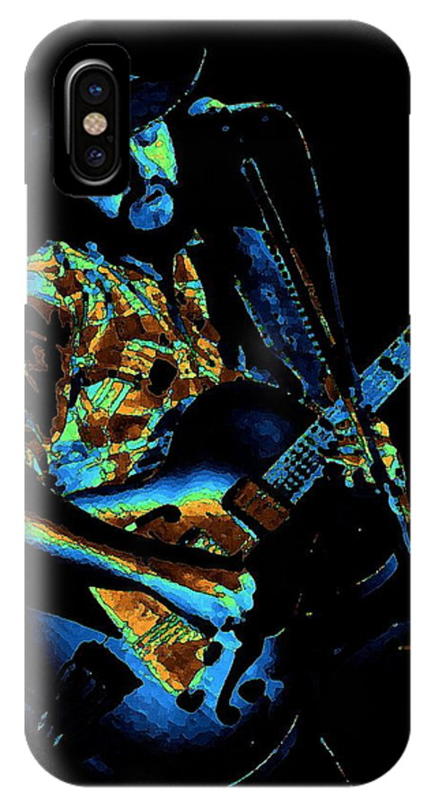 Marshall Tucker IPhone X Case featuring the photograph Toy Caldwell Art 2 by Ben Upham