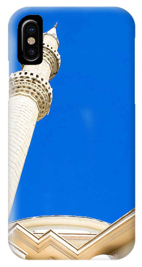 Adhan IPhone X Case featuring the photograph Turkish Mosque by Tom Gowanlock