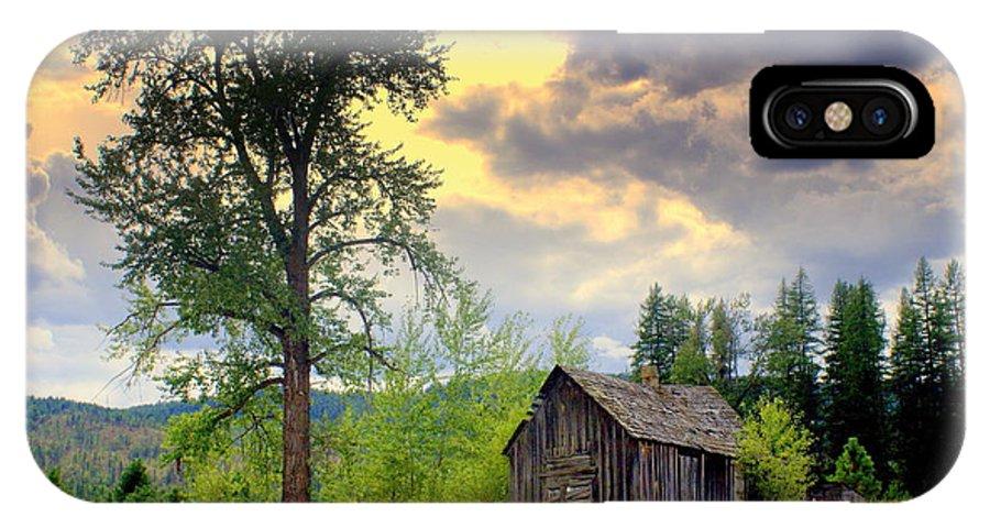 Washington IPhone X Case featuring the photograph Washington Homestead by Marty Koch