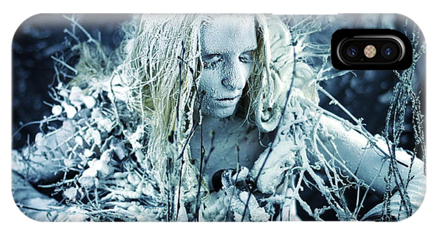 Fine Art IPhone X Case featuring the photograph Winter's Sorrow by Cliff Nixon